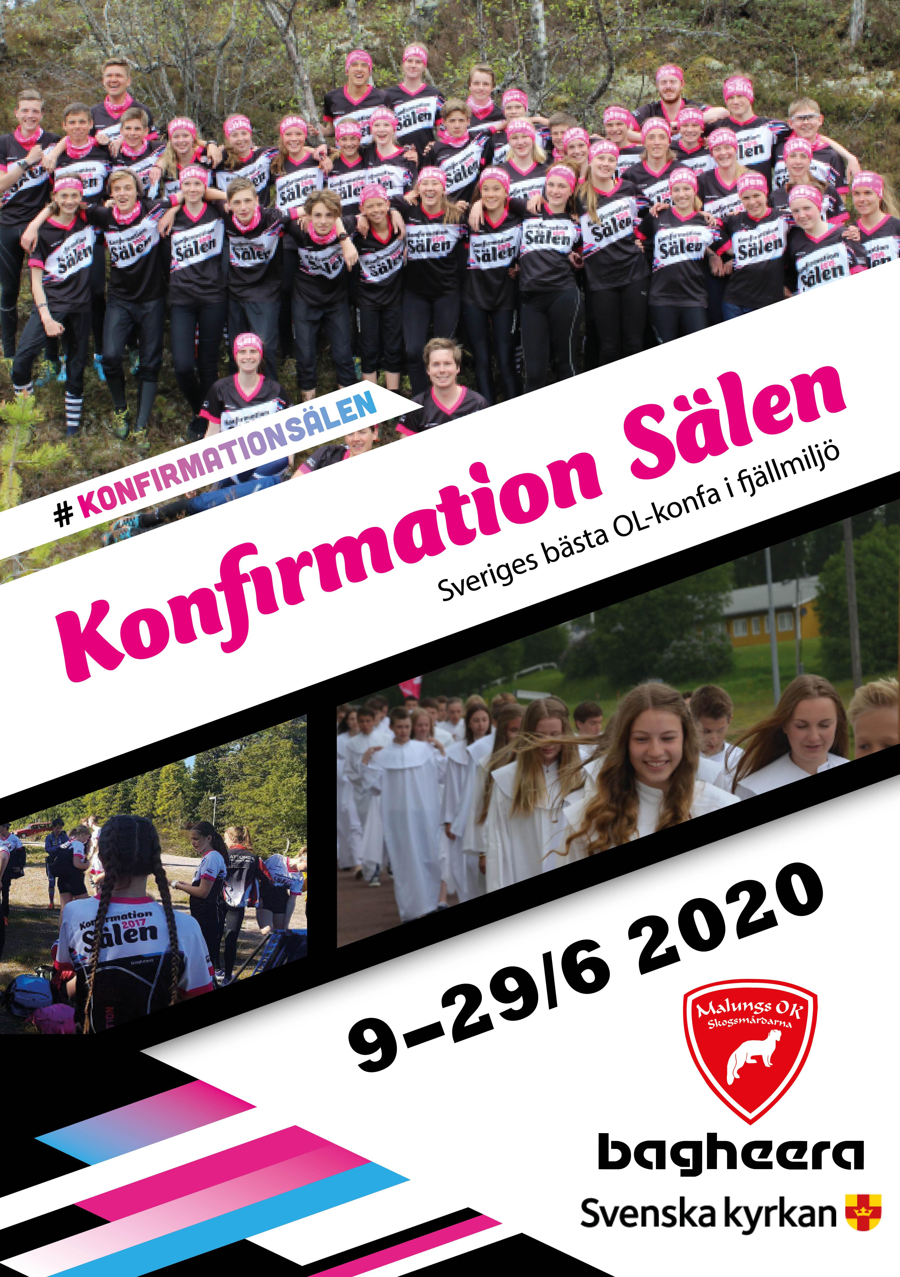 Inbjudan Konfirmation Sälen 2017