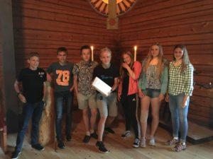 Team Ullared vann gårdagens poängjakt.